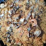 recette Poêlée de poisson champignons