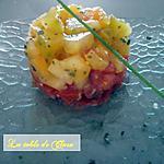 recette Tartare aux 2 tomates