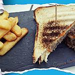 recette Club sandwich façon hamburger ou croque hamburger