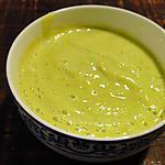 recette Velouté de courgettes de Malika