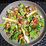 recette Salade verte au jambon et conté