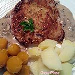 recette Côte panée 'farcie de gourmandise'