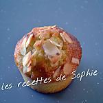 recette Muffins poires et amandes