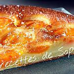 recette clafoutis vanillé aux abricots