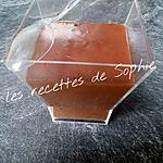 recette petites crèmes au chocolat fondante