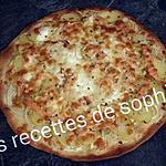recette PIZZA AU SAUMON