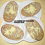 recette Minis-quiches sans pâte au thon,au mais et aux olives