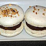 """recette Macarons façon """"rochers suchard"""""""