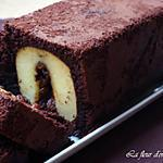 Cake pomme choco