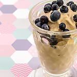 recette Glace au mascarpone, à l'amaretto et aux myrtilles