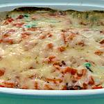 recette Gratin de merlu aux  légumes printaniers