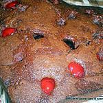 recette Brownies coeur de cerises confites