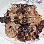 recette Cabillaud à la parisienne (compatible dukan)