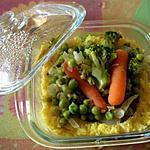 recette Tartelette de polenta à la jardinière de légumes