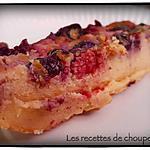 recette Clafoutis aux myrtilles et framboises