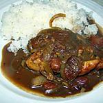 recette Poulet au molé (style mexicain)