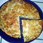 recette quiche sans pate poireaux lardons