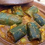 recette Tajine de courgettes farcis à la sardine