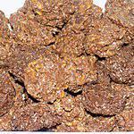 recette Roses des sables chocolat au lait/noix de coco