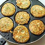 recette Crêpes de courgettes et truite fumée