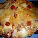recette Pizza jambon et trois fromages