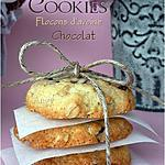recette Cookies flocons d'avoine et chocolat