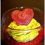 verrine betterave : recette Verrines de betteraves rouges et guacamole