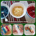 recette Croque bleu blanc rouge