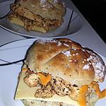 recette Burger Ciabatta pavot au blancs de dinde et aux épices cajun