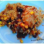 recette Gratin de poulet à la mexicaine