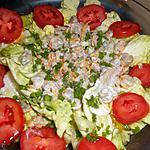 recette Salade de coques