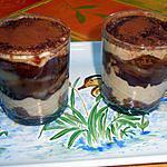 recette Tiramisu poire chocolat marron