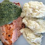 recette Filet de saumon et mousseline d'oseille