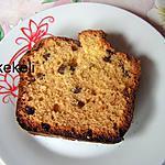 recette Cake aux raisins de Carmencita