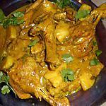 recette Curry de canard a l ananas