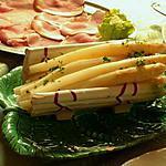 recette Petits toasts au jambon fumé et aux asperges