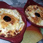 recette Petits gratins de chair de courgettes a la ricotta et au chorizo