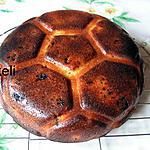 recette Gâteau foot coco rhubarbe