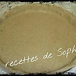 recette Pâte brisée sans gluten version sucrée
