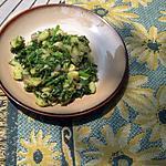 recette Pommes de  terre aux épinards à l'indienne