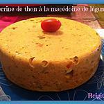 recette TERRINE DE THON A LA MACÉDOINE DE LÉGUMES au COOKEO