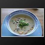 recette Velouté de Moules à la Normande