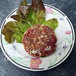 recette Steak haché aux oignons