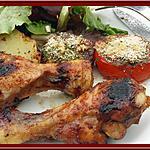 recette Pilons de dinde Tandoori à la Plancha