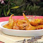recette Poulet tandoori au lait de coco