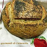 recette Pain de seigle aux pommes de terre et graines de pavot