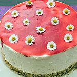 recette Cheesecake aux yaourts, au citron et aux framboises