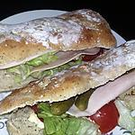recette Sandwichs pique nique aux graines de pavot