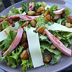 recette Salade au cervelas poêlées