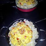 recette Limande au chorizo poivron sauce  lait de coco-curry citronée